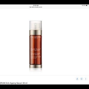 New without box clarins double serum 1.6 fl oz